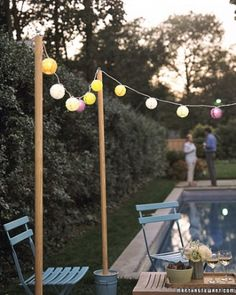 """See the """"Outdoor Movie Party"""" in our Outdoor Party Ideas gallery"""