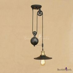 Do you think I should buy it? How would it look over my dining room table in my 110 farm house House Lighting, Kitchen Lighting, Industrial Pendant Lights, Pendant Lighting, Round Pendant Light, Dining Room Table, Farm House, Decorating Ideas, Bulb