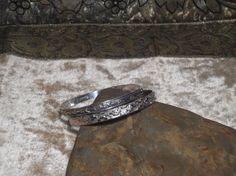 Set of 2 925 Sterling Silver Bangle Bracelets Danecraft n Mexico Silver ooak rococo southwest hippie boho sundance lolita jewelry cyber sale The Land of Bridget