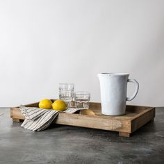 Wooden Footed Tray - Magnolia Market   Joanna & Chip Gaines