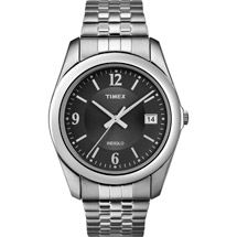 Walmart: Timex Men's Dress Watch, Stainless-Steel Expansion Band