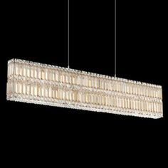 Schonbek quantum box silver teak 39 wide crystal chandelier could schonbek quantum golden shadow 47 wide crystal chandelier mozeypictures