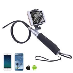 8.0mm Wireless 960P 2MP 6 LEDs Handheld IP67 Endoscope for Android iPhone Inspection Tube Camera