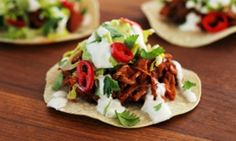 BBQ pulled jackfruit taco! #vegetarian #vegan