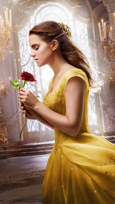 "Emma Watson as Belle in ""The Beauty and The Beast"" promotional poster. Emma Watson Wallpaper, Pink Wallpaper, Disney Wallpaper, Iphone Wallpaper, Room Wallpaper, Wallpaper Wallpapers, Cinderella Wallpaper, Iphone Backgrounds, Tumblr Wallpaper"