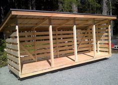 Storage barns, cabins, sheds from Country Style Storage Barns on Vancouver Island BC Outside Storage Shed, Wood Storage Sheds, Barn Storage, Storage Shed Plans, Outdoor Storage, Outdoor Firewood Rack, Firewood Shed, Firewood Storage, Lean To Shed Plans