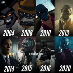 Geek Room, Dc Comics Art, Black Mask, Dc Universe, Comic Art, Evolution, Geek Stuff, Cartoon, Superhero