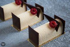 Mousse de Chocolate Dulcey, Café, Coco y Frambuesa | Postres con estilo