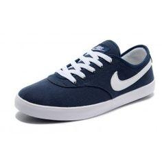 Købe Nike Regent Split Mørkblå Hvid Herre Skobutik | Ny Nike Regent Split Skobutik | Nike Skate Skobutik Butik | denmarksko.com