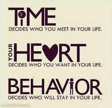 Time. Heart. Behavior.