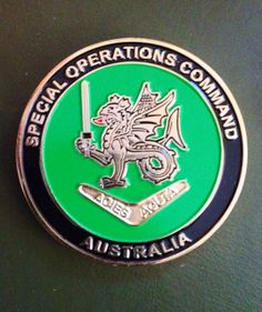 A Special Operations Command Military Challenge Coin ...