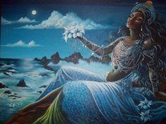 Yemaya Reina Diosa De Los Océanos.