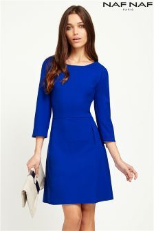 Make a statement in women's chic work dresses. Browse smart and formal styles for your weekday look. Work Dresses For Women, Clothes For Women, Mid Length Dresses, Formal Dresses, Dress Outfits, Fashion Dresses, Mature Women Fashion, Smart Dress, Classy Dress