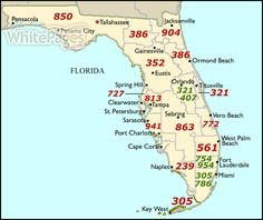 Area Code Map Florida 19 Best Area Codes images in 2017 | Area codes, Coding, Map