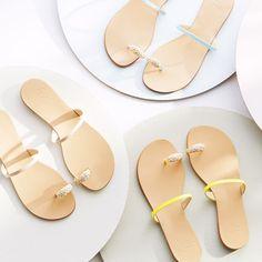 Giuseppe Zanotti toe ring sandals.