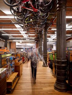 REI retail store by Callison, New York store design