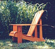 Complete Package Of Dwg Files For Adirondack Chairs