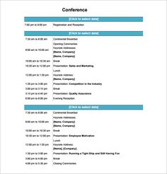 image result for conference program design template seminar ideas