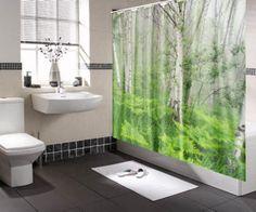 6 diseños de cortinas para baño