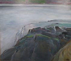 File:'From Cliffs to Evening' by Reuben Tam, oil on canvas, 1978, Honolulu Museum of Art, 6230.1.JPG
