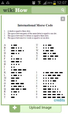 Learn Morse Code...: 4 Steps - instructables.com