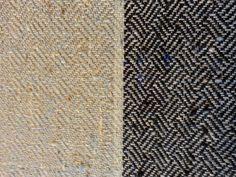 Tussah silke viskose stof, håndvævet af Annette Holm Jessen.
