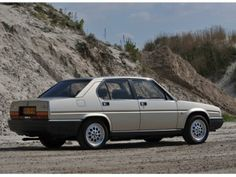 #Alfa #Romeo #90 2.5 #Quadrifoglio #Oro