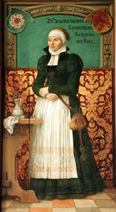 Picture of Martin Luther's wife: Katharina von Bora (1499-1552)