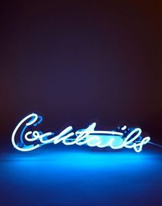 Talking Tables Cocktails Neon Light