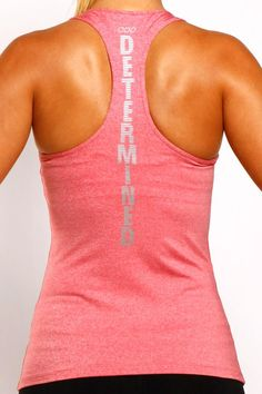 Determined Tank Spark Excel Tank Carla Vernon I'll text you about my idea - Fitness Shirts - Ideas of Fitness Shirts - Determined Tank Spark Excel Tank Carla Vernon I'll text you about my idea. Athletic Outfits, Athletic Wear, Athletic Tank Tops, Workout Attire, Workout Wear, Workout Outfits, Workout Clothing, Fitness Clothing, Sport Fashion