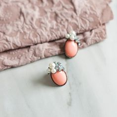 Earrings with pearls. #earrings #pearls  Szaleo.pl | Be new fashioned & accessorized!
