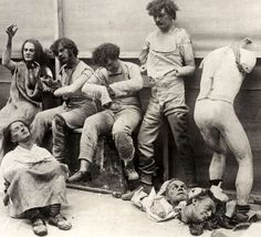Melted and damaged mannequins after a fire at Madame Tussaud's Wax Museum in London, Very creepy! Rare Photos, Photos Du, Vintage Photographs, Old Photos, Iconic Photos, London Photos, Madame Tussauds, Nagasaki, Hiroshima