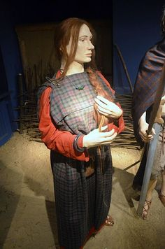 The clothing Celtic women were considered to wear back then.