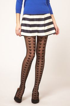 I need more stripes on my skirts and hearts on my tights...