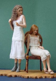 1/12 scale dolls by Susan Scogin