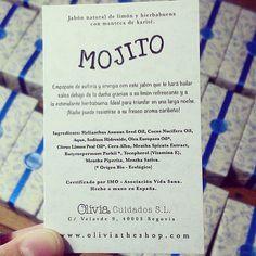 """@oliviasoaps en Instagram: """"Mojito todo el año #oliviasoaps www.oliviatheshop.com #oliviatheshop"""""""