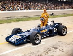 Today in 1971, Mark Donohue recorded the first 180+ mph lap at Indianapolis Motor Speedway.