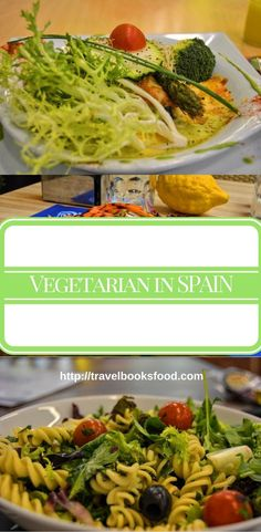 Vegetarian In Spain. Things and places to eat as a vegetarian in Madrid, Barcelona and Mallorca, Spain. Travel in Europe.