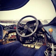 Porsche 917 interior. by paulgeudon