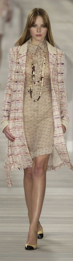 Chanel Spring 2004 - the lady who lunches.