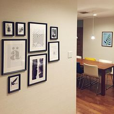 Gallery Wall, Living Room, Frame, Interior, House, Home Decor, Picture Frame, Decoration Home, Indoor
