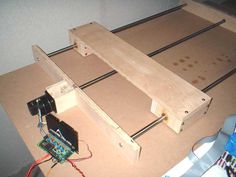 Cnc Projects, Arduino Projects, Electronics Projects, Cnc Router Plans, Woodworking Jigs, Woodworking Projects, Diy Cnc, Ideal Tools, Stepper Motor