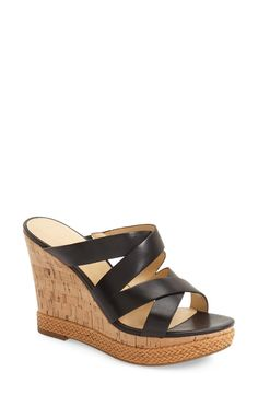 Ivanka Trump 'Habbie' Wedge Sandal (Women) available at #Nordstrom