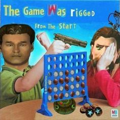 Truth is, the game was rigged from the start. connect four k Fallout Tips, Fallout Funny, Fallout Fan Art, Baguio, Really Funny Memes, Funny Relatable Memes, Connect Four Memes, Fallout Comics, Logic Memes