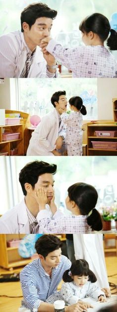 Because Big wasn't a total disaster from beginning to end -- Gong Yoo with young co-star.