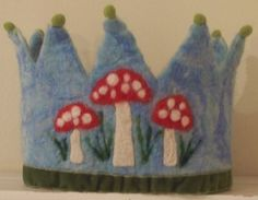 Toadstall Waldorf Birthday Crown on Etsy, $65.00