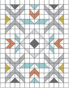 Motifs Granny Square, Half Square Triangle Quilts Pattern, Square Quilt, Half Square Triangles, Barn Quilt Patterns, Modern Quilt Patterns, Modern Quilting Designs, Modern Quilt Blocks, Quilt Designs