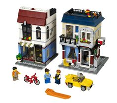 Amazon.com: LEGO Creator Bike Shop and Cafe 31026 Building Toy: Toys & Games