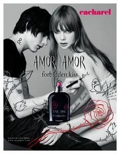 Luke Worrall by Jean Baptiste Mondino for Amor Amor Fragrance Campaign
