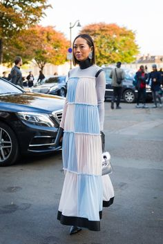 Day 4 | Paris Fashion Week Street Style Spring 2018 | POPSUGAR Fashion Photo 22